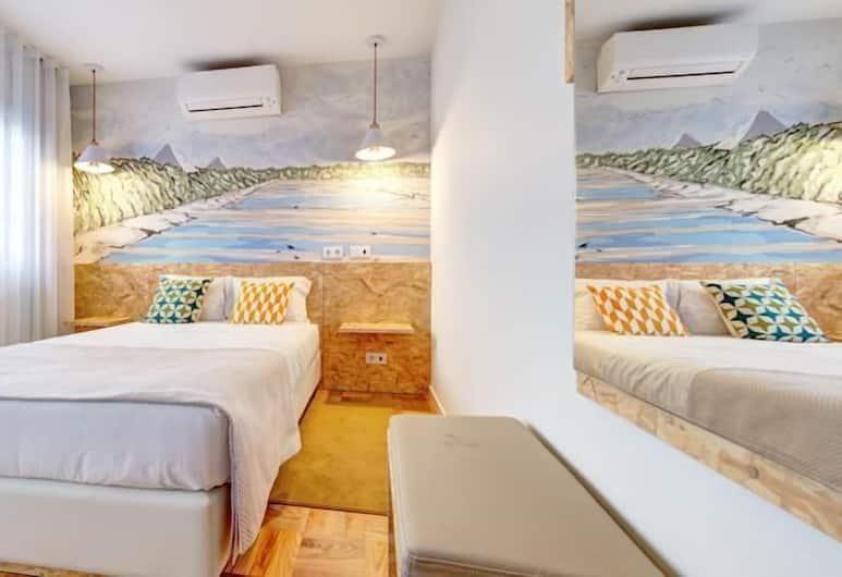 Hotel Cale do Oiro, Aveiro, Chambre Double, balcon, Chambre