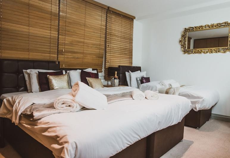 諾韋蒂套房酒店, 倫敦, 奢華公寓, 2 間臥室, 2 間浴室, 花園景, 客房