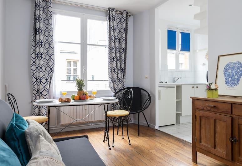 Place des Vosges - Bastille Apartment, Paris, Lägenhet City - 1 sovrum - pentry, Matservice på rummet