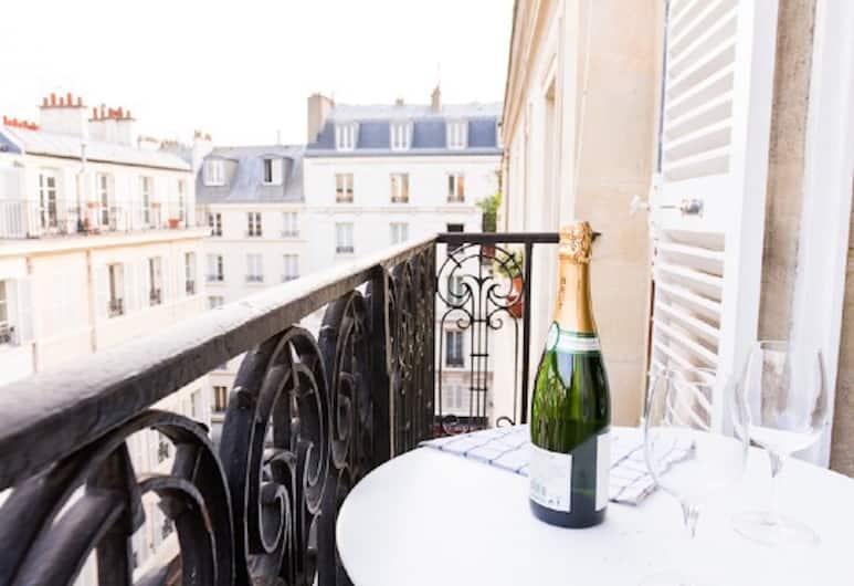 La Seine - Notre Dame Private Apartment, Paryż, Apartament typu City, Balkon