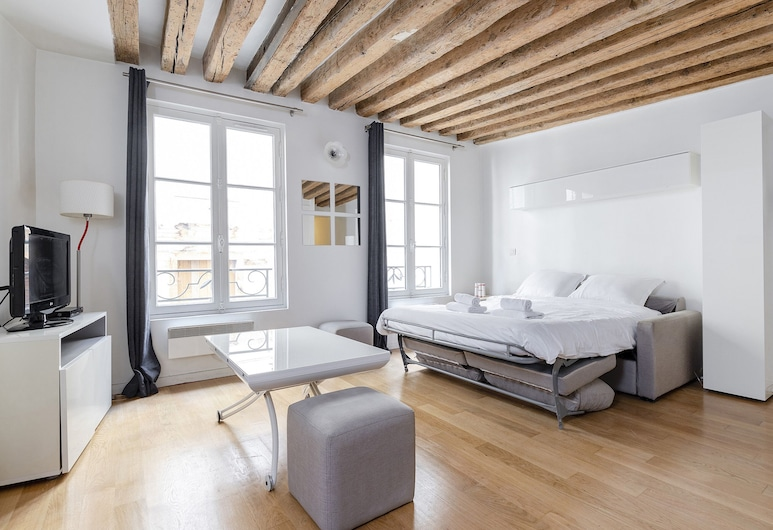 馬比永 - 聖日耳曼德佩公寓酒店, 巴黎, 都會開放式客房, 客房景觀