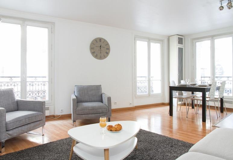 Louvre Area - Saint Honoré Apartment, Paryż, Apartament typu City, 1 sypialnia, Powierzchnia mieszkalna