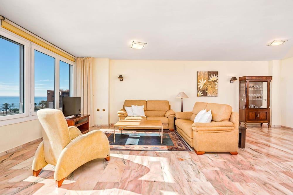 Apartmán, 3 ložnice, výhled na moře - Obývací pokoj