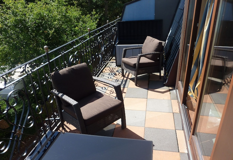 Hotel Wernerwald, Куксгафен, Двомісний номер категорії «Superior», Балкон