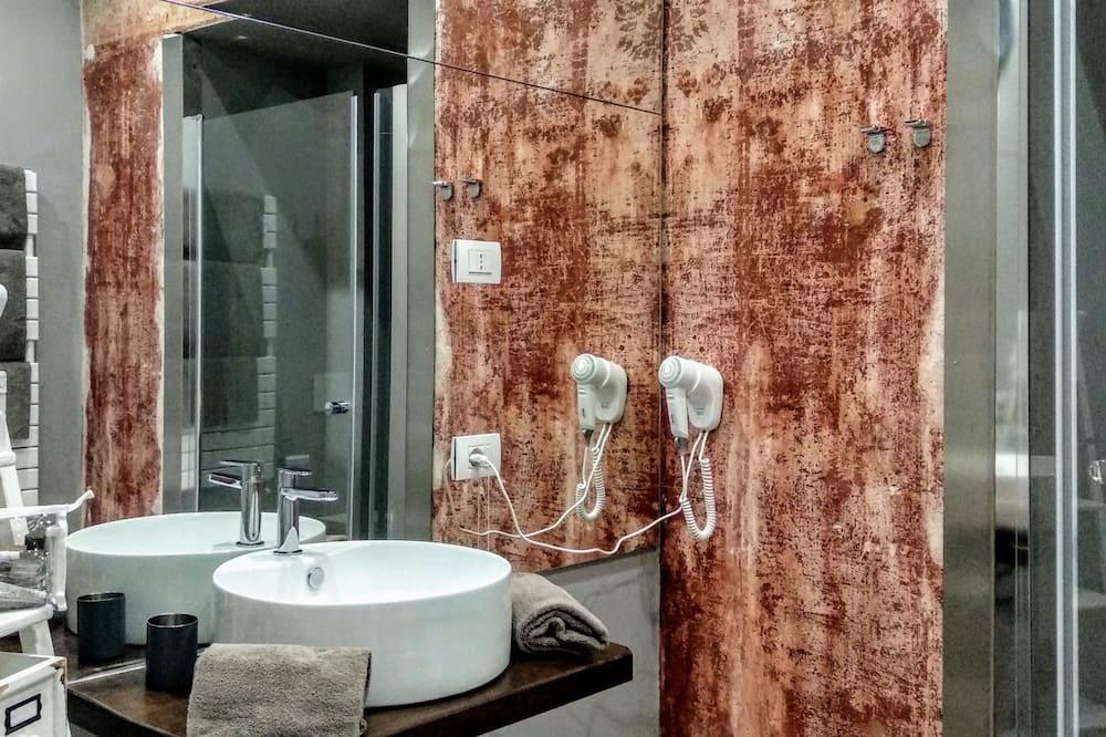 Chambre Deluxe, salle de bains privée, vue ville (Bellagio) - Salle de bain