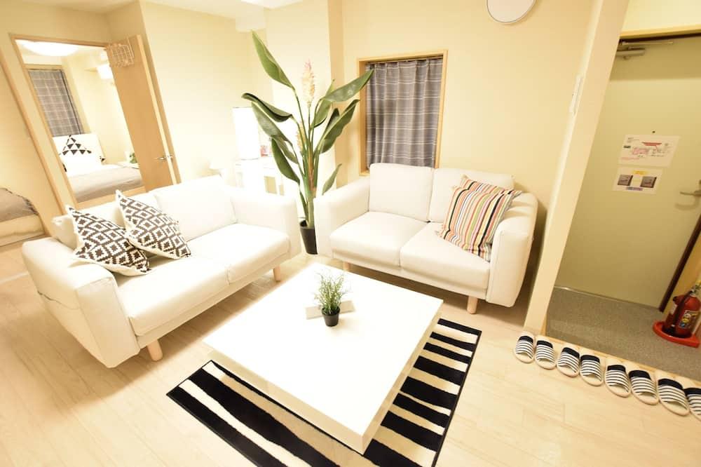 Departamento, 2 habitaciones (4B) - Sala de estar