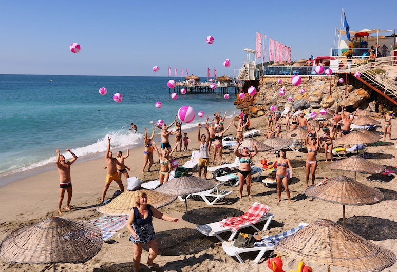 Club Hotel Anjeliq - All Inclusive, Alanya, Plaj