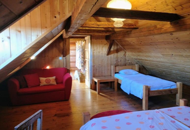 Hostel Krumlov House, Cesky Krumlov, Economy tweepersoonskamer, niet-roken, Uitzicht op rivier, Kamer