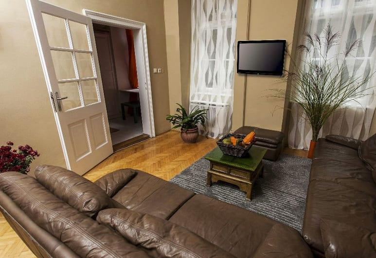 Laxsoppa Apartment, Budapeszt, Apartament, 2 sypialnie, Salon