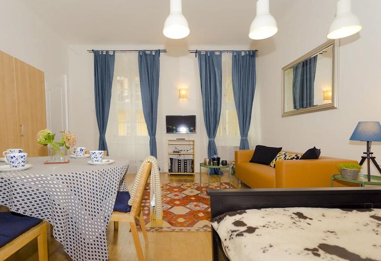 Laksa Apartments, Βουδαπέστη, Διαμέρισμα, 2 Υπνοδωμάτια (Oasis), Περιοχή καθιστικού