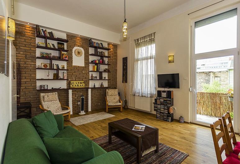 Souper Apartments Downtown, Budapest, Leilighet, 2 soverom (Sambar), Stue