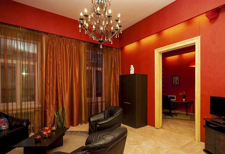 Ginestrata Apartment, Budapeszt, Apartament, 3 sypialnie, Salon