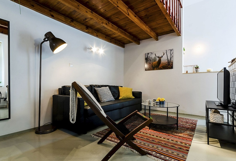 Pepper Apartments, Budapeszt, Apartament, 1 sypialnia (Allspice), Salon