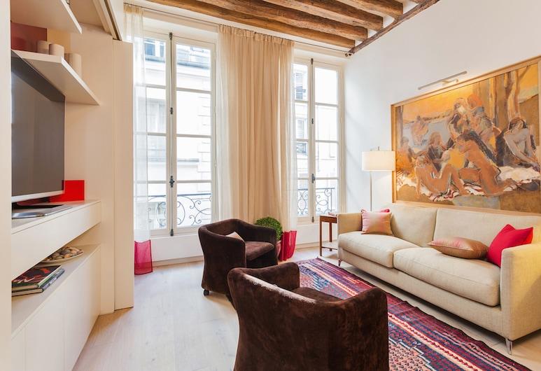Saint Germain - Odeon Private Apartment, Paris, Lägenhet City - 2 sovrum, Vardagsrum