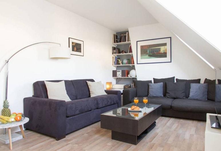 Central Paris - City Views Apartment, Παρίσι, Διαμέρισμα, Περιοχή καθιστικού