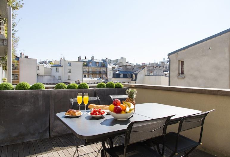 Arts et Metiers - Le Marais Apartment, Παρίσι, Γεύματα σε εξωτερικό χώρο