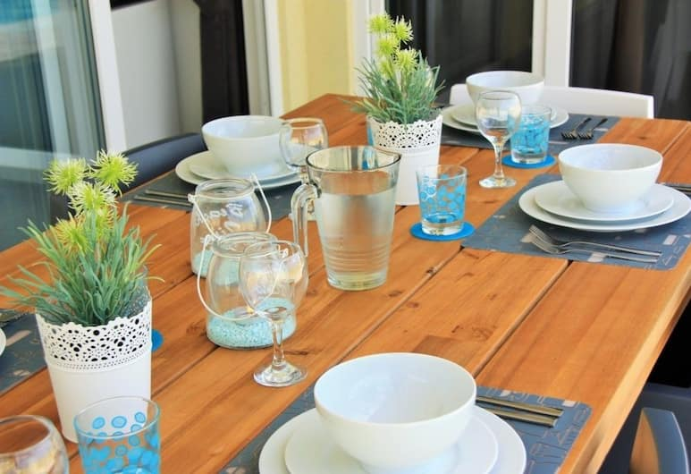Mi Gusto Villa, Oranjestad, Villa, In-Room Dining