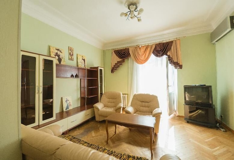 Kiev Accommodation Apartments on Prorizna st, Kyiv, Værelse