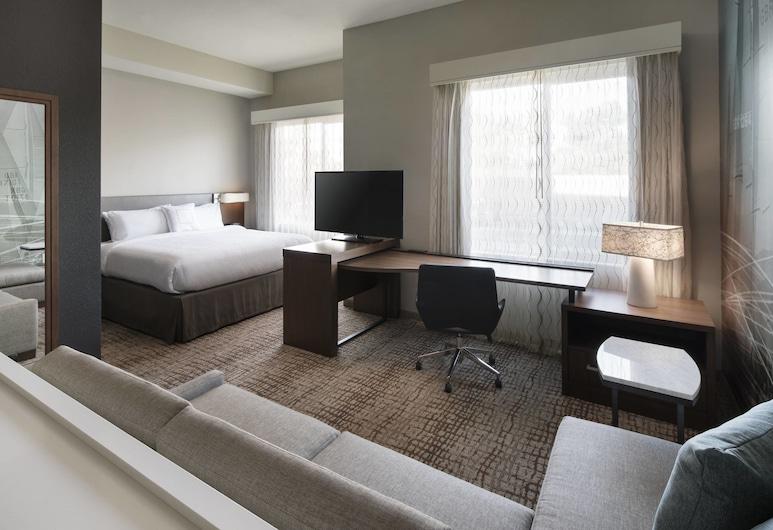 Residence Inn by Marriott Redwood City San Carlos, San Carlos, Estúdio, 1 cama king-size, Não-fumadores, Quarto