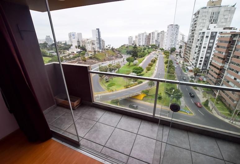 Lux Miraflores Apartments Ocean View, Lima, Deluxe Apartment, 2 Bedrooms, Ocean View, Oceanfront, Terrace/Patio