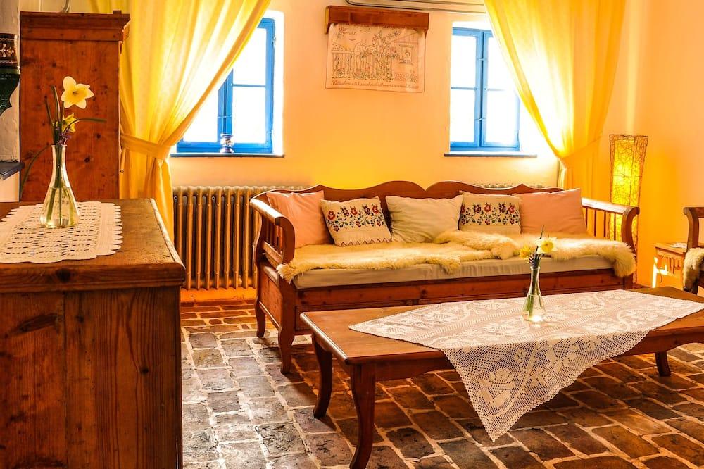 Homoki Residence Cottage - Sala de estar