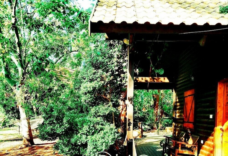 הבקתה, רמות, בקתה, חדר שינה אחד, נגישות לנכים, לצד ההר, מרפסת/פטיו