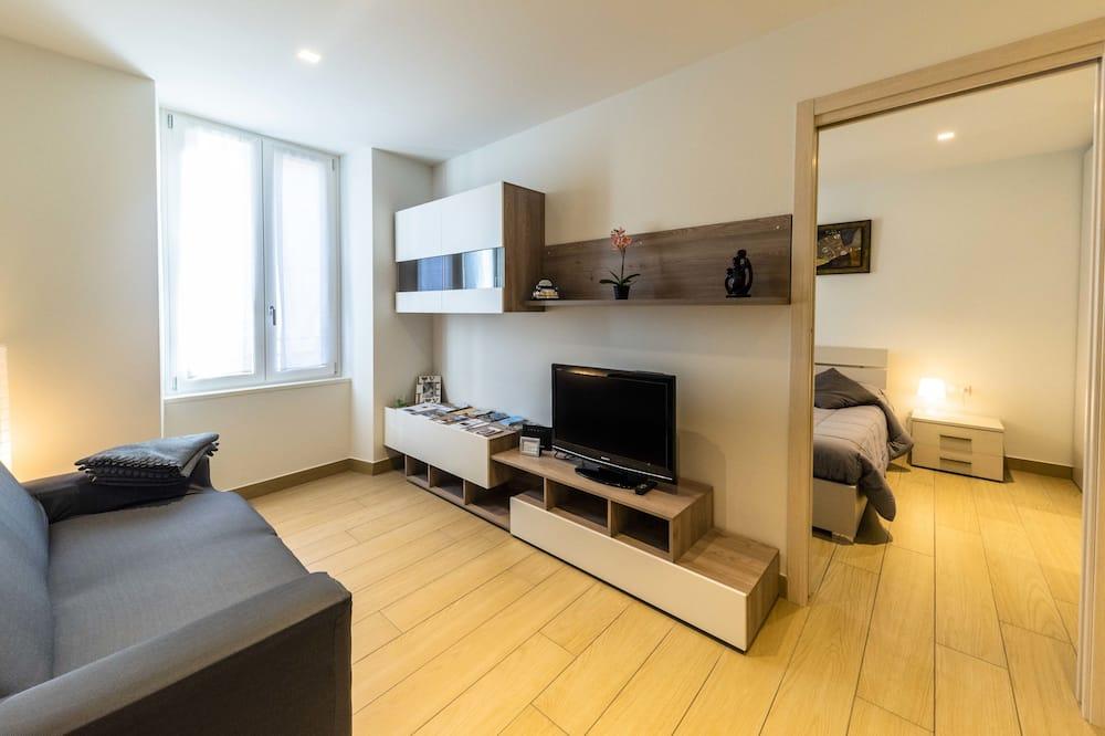 コンフォート アパートメント 1 ベッドルーム キッチン - リビング エリア