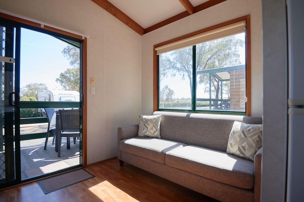 Two Bedroom Homestead Cabin - Living Area