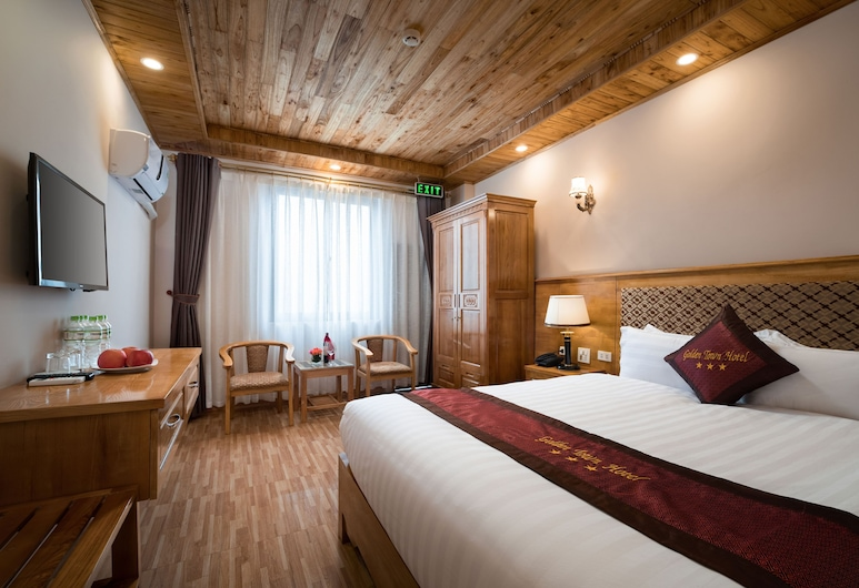 Golden Town Hotel, Sa Pa, Deluxe Double Room, Guest Room