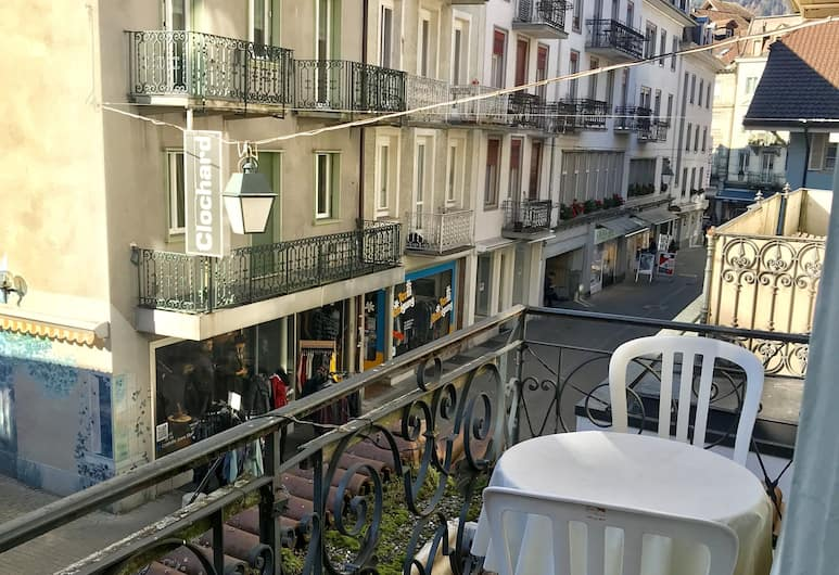 Interlaken Höhematte Apartment, Interlaken, Standard-Apartment, 1 Schlafzimmer, Balkon (zzgl. Endreinigungsbebühr CHF 20,00 pro Aufenthalt), Balkon