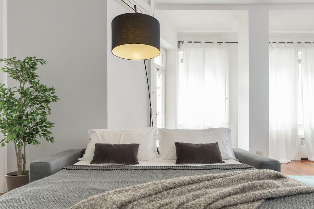 Apartmán, 3 ložnice, 2 koupelny - Obývací prostor