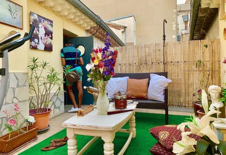 Hotel Paul Riquet, Béziers, Comfort-dobbeltværelse, Terrasse/patio