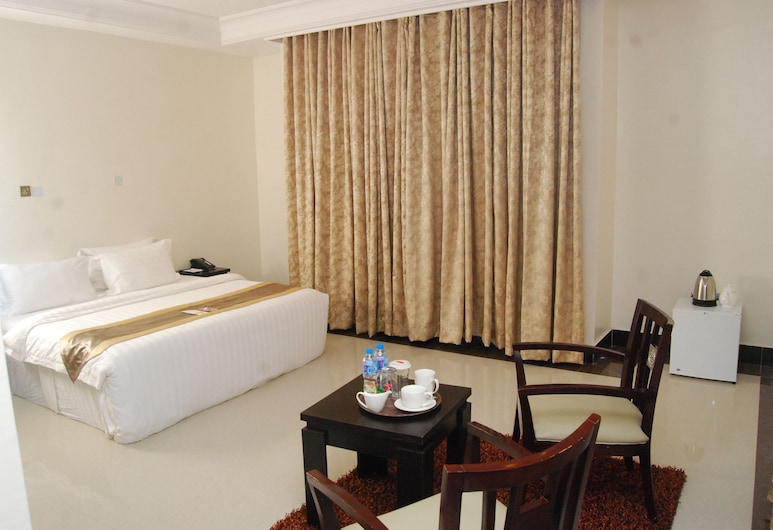 Grandbee Apartment and Residence, Lagos, Deluxe apartman, 1 spavaća soba, Soba za goste