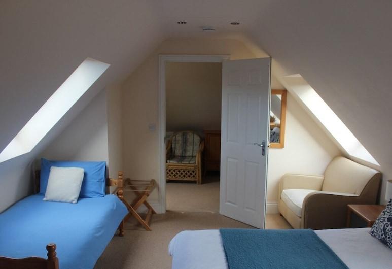 Oxfordbnb, Oxford, Habitación triple familiar, baño privado (Bath and Shower), Habitación