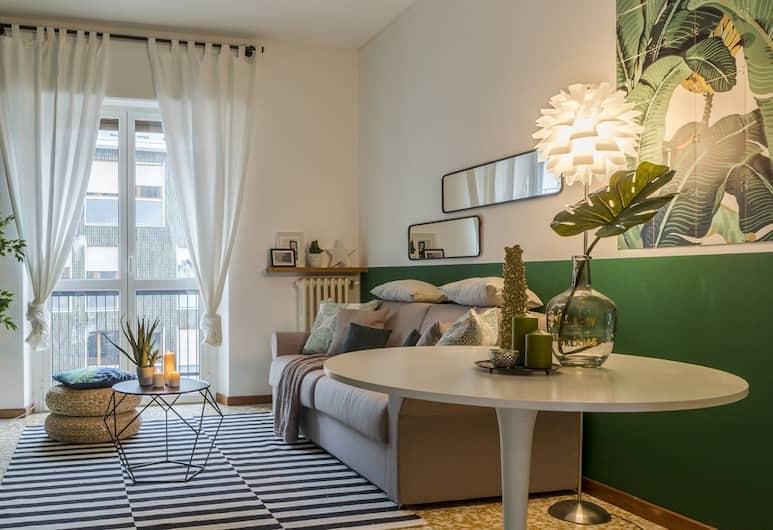 The Night Out Apartment, Milaan, Appartement, 1 slaapkamer, Woonruimte
