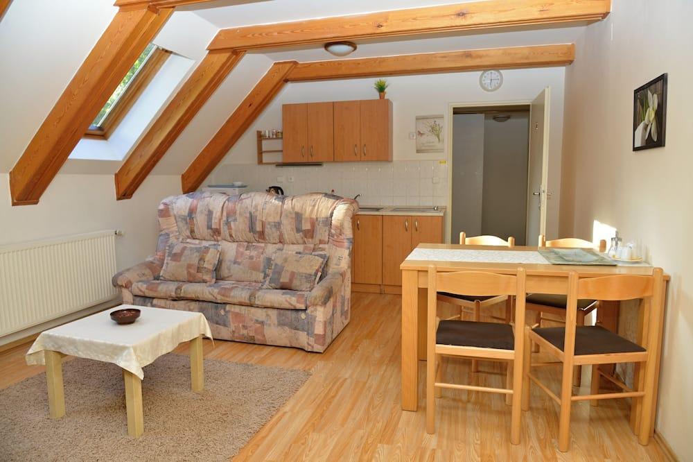 Appartamento, 1 camera da letto, cucina - Pasti in camera