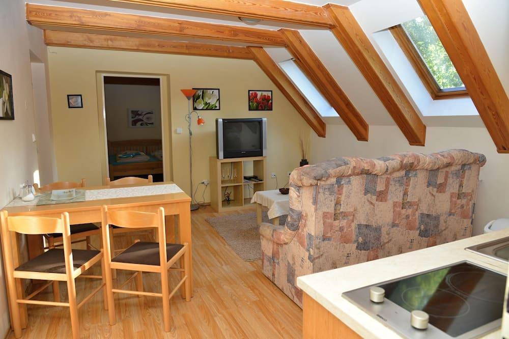 Appartamento, 1 camera da letto, cucina - Area soggiorno