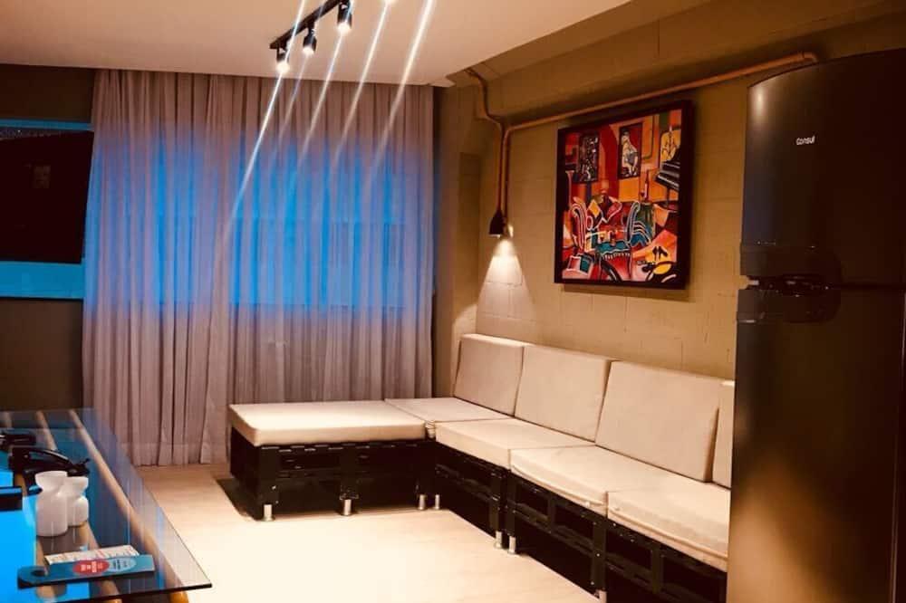 Standard-Doppel- oder -Zweibettzimmer - Wohnbereich