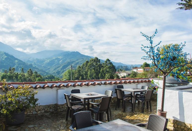Hotel Posada del Angel, Salento, Outdoor Dining