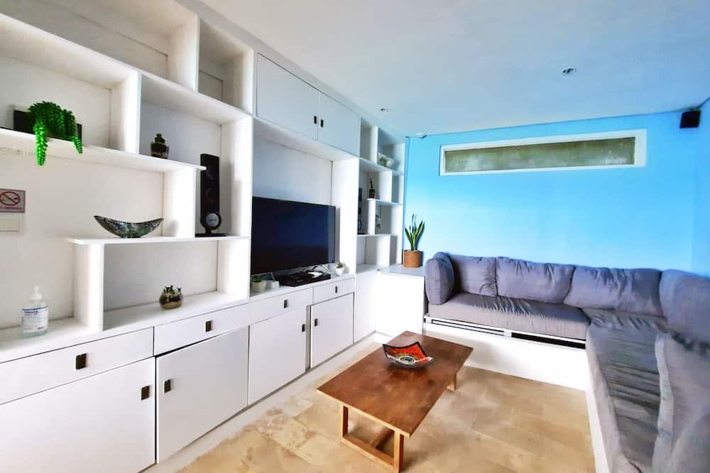 Villa – exclusive, 3 soverom, ved strandkanten - Oppholdsområde