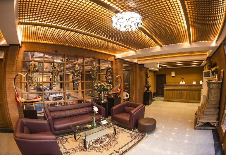 Bagan View Hotel, Nyaung-U, Salon de la réception