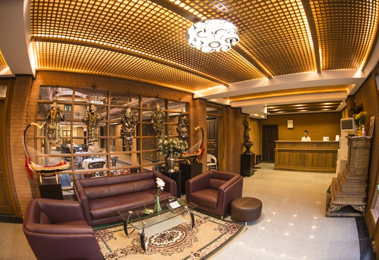 Bagan View Hotel, Nyaung-U, Lobby Sitting Area