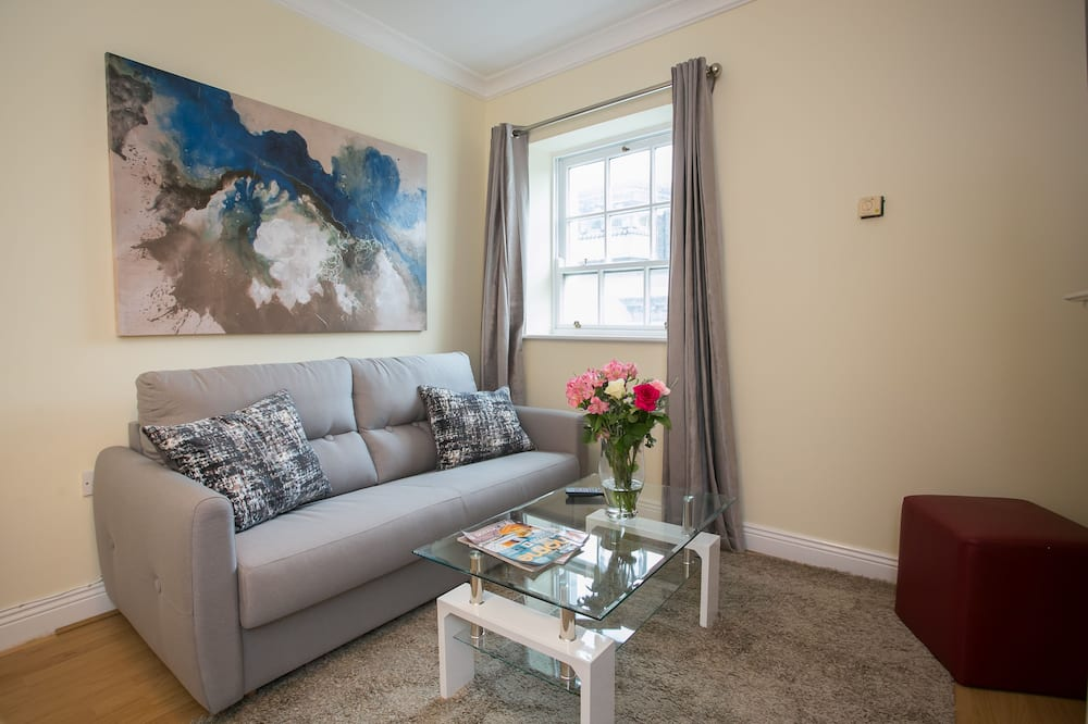 Superior Apartment, 2 Bedrooms, Kitchen, City View - Living Area