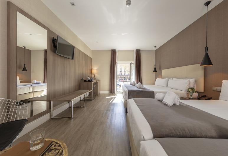 Hotel Oasis, Barselóna, Fjölskylduherbergi, Herbergi
