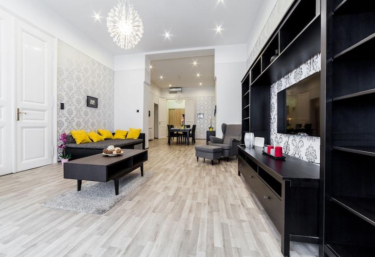Real Apartments Semmelweis , Budapest, Leilighet, Oppholdsområde