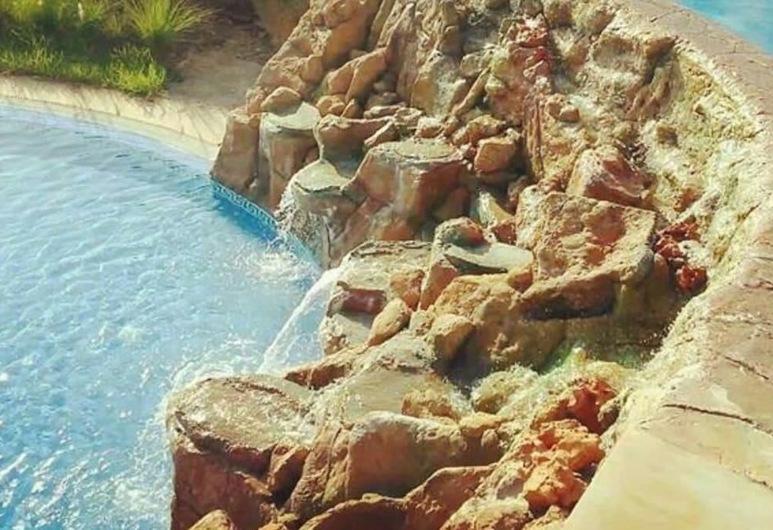 Lilac's garden Vue piscine, M'diq, Útilaug