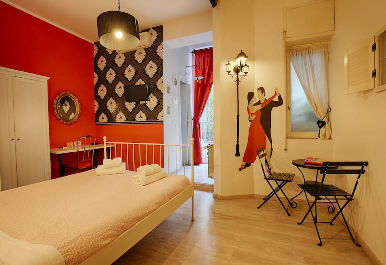 Jet Lag, Rome, Double Room, Guest Room