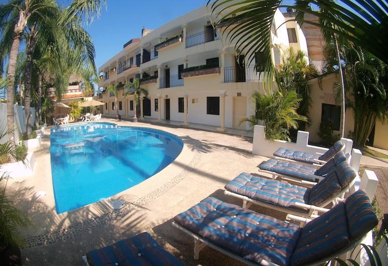 林孔皇家酒店, Guayabitos 景點, 室外泳池