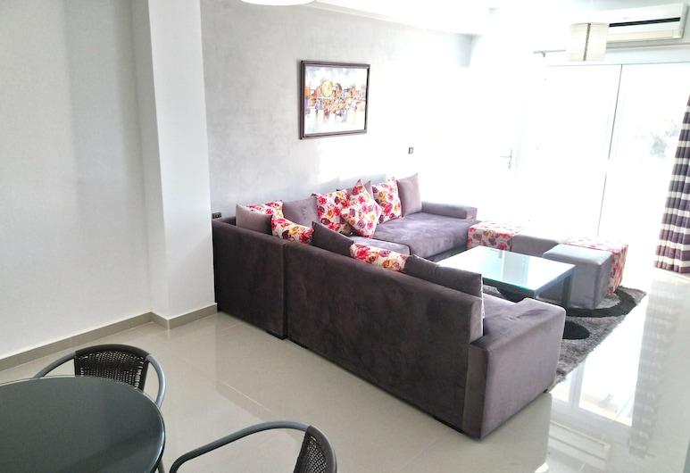 Résidence Assoulil MLP Agadir, อากาดีร์, อพาร์ทเมนท์, 2 ห้องนอน, ห้องนั่งเล่น
