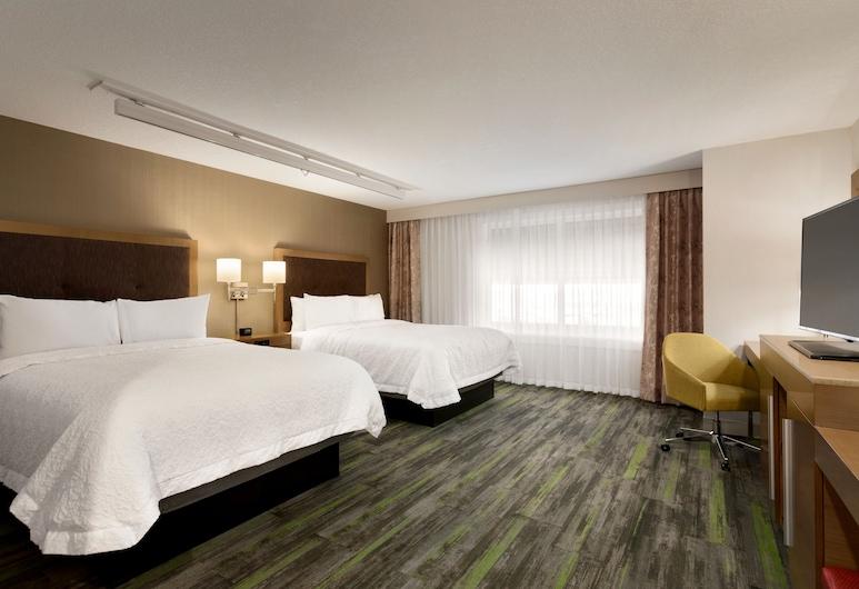 Hampton Inn by Hilton St Paul Alberta, St. Paul, Room, 2 Queen Beds, Refrigerator, Guest Room
